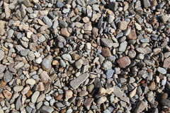Background of rock pebble stones Royalty Free Stock Photos