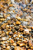 Background rocks in the water Stock Photos