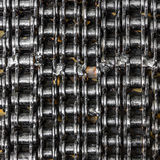 Background with roller metal chains Royalty Free Stock Image