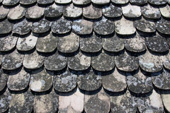 Background of roof tiles Stock Image