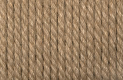 Background a rope. Background from a brown rope Stock Photography