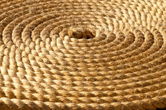 Background of rope folded Royalty Free Stock Image