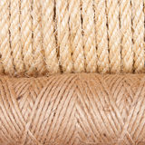 Background of rope folded Royalty Free Stock Photography