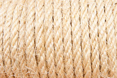Background of rope folded Royalty Free Stock Photos