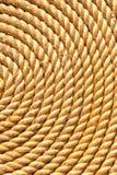 Background of rope folded helix Stock Photos