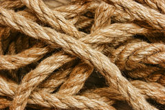 Background of the ropes Royalty Free Stock Photography