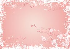 Background with Rose flowers Stock Photo