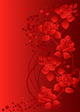 Background with roses. Stock Image