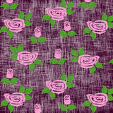 Background Roses. Abstract Floral Background With Roses Stock Image
