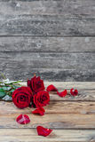 Background with roses Stock Photo