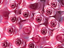Background Roses Shows Template Romance And Bloom Stock Image