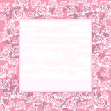 Background with roses,vector Stock Photography