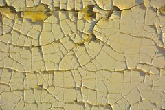 Background , rotten paint peiling from a wall Royalty Free Stock Images