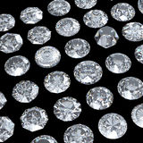 Background with round diamond Stock Photo