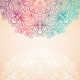 Background with a round natural pattern Stock Images