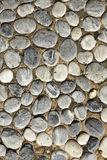 Background with round peeble stones Royalty Free Stock Images