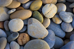 Background with round stones pattern Royalty Free Stock Image