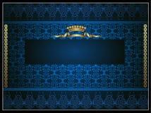 Background royal menu Royalty Free Stock Images