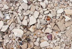 Background from rubble Royalty Free Stock Photos