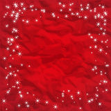 Background rumpling red paper Stock Image