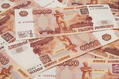 Background of russian money, Stock Photos