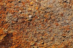 Background of rust. Old dirty background of rust Stock Photography