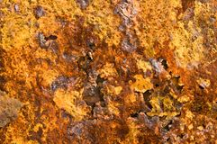 Background of rust. Background of  disintegrating rust with textures Stock Photo