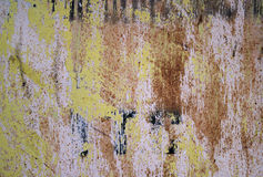 Background of rust  metal wall Royalty Free Stock Photo