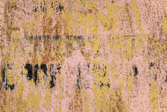 Background of rust  metal wall Stock Image