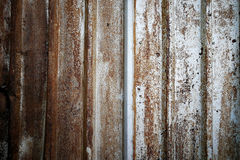 Background of Rusted metal wall, Vintage texture Royalty Free Stock Photo