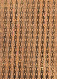 Background Rusted Patterned Metal Mesh Stock Image
