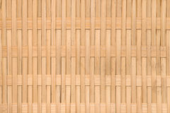 Background of rustic interlaced straw Royalty Free Stock Photography
