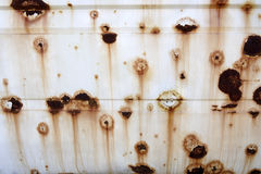 Background of a rusty car Stock Photos