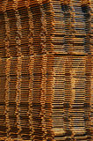 Background rusty construction steel mats Royalty Free Stock Photography