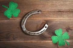 Patricks day holiday symbol. Space for text royalty free illustration