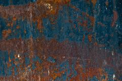 Background from rusty metal royalty free stock photography