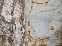 Background of rusty metal Royalty Free Stock Photos