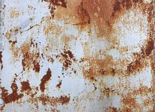Background of rusty metal texture royalty free stock photo
