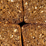 Background of rye bread Royalty Free Stock Photos
