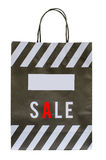 Background sale paper bag Stock Photo