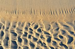 Background of sand on beach in winter royalty free stock image