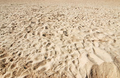 Background of sand Royalty Free Stock Photo