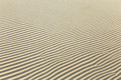 Background of sand ripples at the beach Royalty Free Stock Images