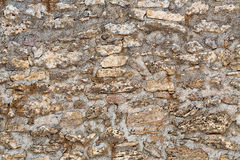 Background, sand stone textured wall Stock Images