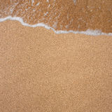 Background from the sand and waves Royalty Free Stock Photo