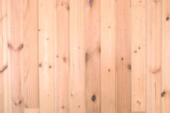 Background of sandy brown vertical planks Royalty Free Stock Photography