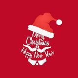 Background of Santa Claus Royalty Free Stock Photography