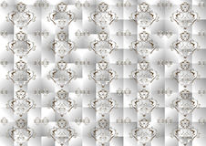 Background  satin  gray mosaic. Bckground.  Wallpa Stock Photos