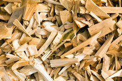 Background from sawdust. Sawdust from a tree lying together in a heap (a background from sawdust Royalty Free Stock Photo