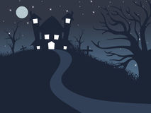 Background for scary day Royalty Free Stock Photo